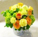 季節のお花のお任せアレンジM
